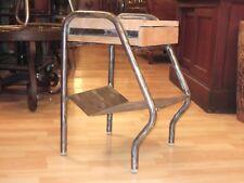 Chevet de Jacques Hitier, édité par Tubauto 1950, mobilier design Métal et bois
