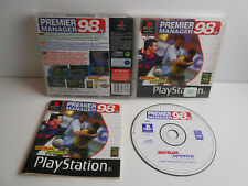 Premier Manager 98 für Playstation 1 / PS1
