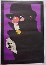Polish poster by Waldemar Świerzy SWIERZY CYRK Authentique d'époque