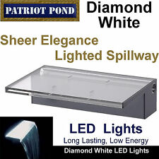 "Patriot Sheer Elegance Se12W Led Lighted Spillway - 12"" Spillway, Diamond White"