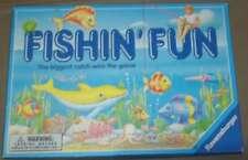 Vintage Fishin' Fun Board Game 1994 Ravensburger ages 4-8 #3341