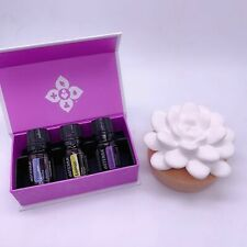 doTERRA Desert Bloom Diffuser + 3x5ml Top Selling Essential Oils Gift Pack Aroma