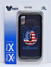 Disney WDW 4th July Patriotic Flag Mickey Apple Iphone 10 X/XS Cellphone Case