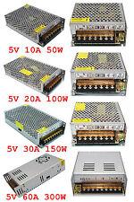 DC 5V(20A/30A/40A/60A)Netzteil for LED-Streifen Licht WS2812B WS2801 WS2811