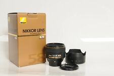 Nikon Nikkor AF-S 58mm f1.4 G Lens 58/1.4 G                                 #165