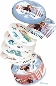 Disney Frozen II Spot It Card Game and Tin 5 Games in 1 Dobble Games Zygomatic