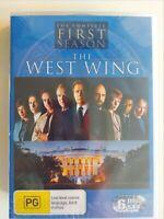 The West Wing : Season 1 (6 DVD Set) Region 4, Brand New & Sealed,FREE Fast Post