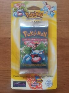 Pokemon Base set blister pack / booster pack sealed - 1999 WOTC French