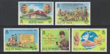 Isle of Man - 1982, Boy Scout Movement set - MNH - SG 211/15