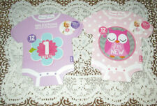 Rising Star Milestone Belly Stickers Baby Girl (2 Sets = 12 + 12) Snap & Share