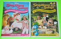 Disney DVD Lot - Sing Along Songs I Love to Laugh (New) Disney's Animal Kingdom