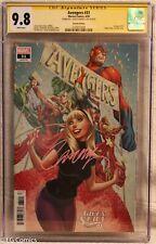 Avengers #31 CGC 9.8 3729277008 signed J. Scott Campbell Marvel Gwen Stacy