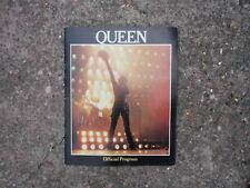 Queen The Game 1980 Official Program Tour Book Brian May Freddie Mercury Taylor