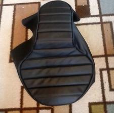 KAWASAKI EN 450-454 LTD 1985-1990 Custom Hand Made Black Motorcycle Seat Cover