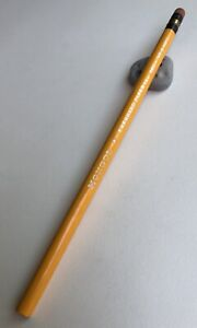 Vintage Eberhard Faber Pencil Early MONGOL 480 Round No. 3 Hard Steinbeck USA