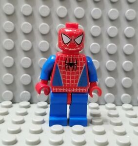 LEGO Super Heroes Spider-Man Minifigure with Faded Head