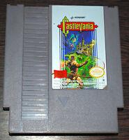 Jeu CASTELVANIA pour Nintendo NES