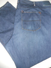 TOMMY BAHAMA 54 x 32 Island Crafted STANDARD Straight Sanded Blue Denim Jeans