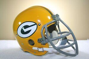 1966 Schutt Style NJOP Game Style RK vtg Football Helmet Clip-On Facemask
