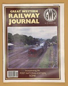 GWR Great Western Railway Journal Magazine 1996 Issue No.s 17 18 19 20