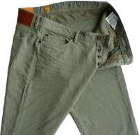 %%% ELEGANTE HUGO BOSS VAQUEROS W31/L32 Orange 90 Cobain 50265679 Regular