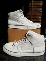 Vintage 2010 Nike Dunk AC White Perf Trainer Size 10 ref14P5 Perforation Pack