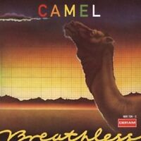 CAMEL - BREATHLESS  CD  9 TRACKS PROGRESSIVE ART ROCK & POP  NEW+