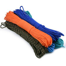 100FT Rope 550 Paracord Parachute emergency Cord Lanyard Mil Spec 7 Strand Core