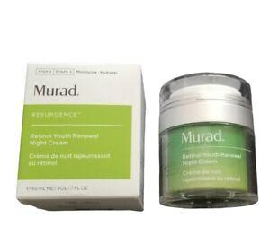 Murad RESURGENCE Retinol Youth Renewal Night Cream 50 ml/1.7 Fl oz Full Size NIB