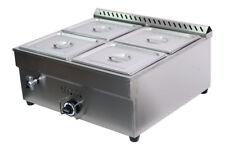 27.4in 4-Pan LP Gas Bain-Marie Buffet Food Warmer Steam Table 1*Warmer+4*1/2Pans