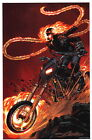 Neal Adams SIGNED Marvel Comics Super Hero Art Print ~ Ghost Rider