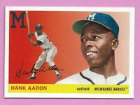 2020 Topps Archives Hank Aaron #100 Milwaukee Brewers