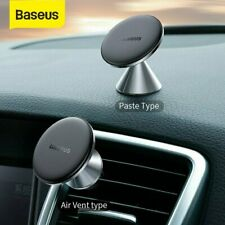 Baseus Magnetic Car Phone Holder Air Vent Dashboard Mount 360° Rotating Stand