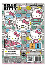 NEW GE Sanrio Hello Kitty Smart Idea Nerd Magnet Sheet License GE39115 US Seller