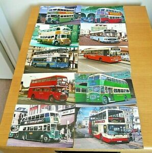20 x Colour Photos - 6 x 4 prints Buses Operators in South East England No.3