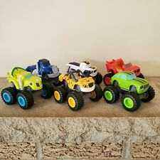 Blaze And The Monster Machines Lot Die Cast Trucks Lot of 6