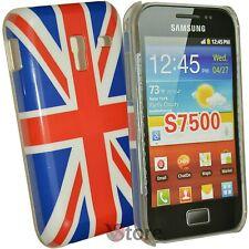 Abdeckung Für Samsung Galaxy Ace Plus S7500 Englisch Flagge Uk + Schutzfilm