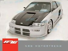 CRX 88-91 Honda BW2 style Poly Fiber full wide body kit bumper kit with hood