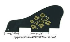 Epiphone Casino ELITIST Black/Gold Pickguard ES-295 Vintage Guitar Project NEW