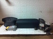 03 04 Isuzu Axiom Air Bag Set Wheel Dash Module Belts OEM Charcoal Gray