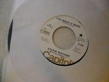Steam Machine You Make It Move/I Can't Help It 45 RPM Capitol Records EX