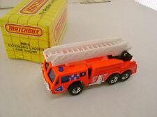 1992 MATCHBOX SUPERFAST #18 FIRE ENGINE LADDER TRUCK 4 NEW IN BOX