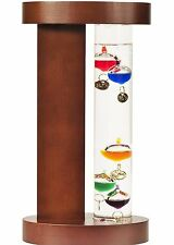 ACU-RITE Galileo Thermometer with Wood Stand