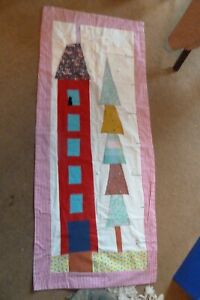 Fabric Height Chart for Young Child - Boy or Girl (Handcrafted) - New
