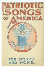 Vintage 1917-18 President Woodrow Wilson Political Patriotic Songs Pamphlet RARE