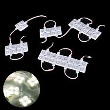 10PCS Waterproof Truck Cargo Bed Pickup 40 LED 5730 Light Pod Kit Strip White TB
