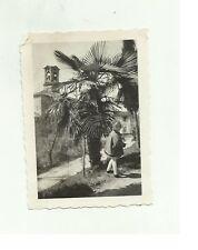 136992 FOTOGRAFIA FOTO ORIGINALE  bambina a lugano castagnola 1932