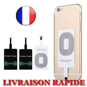 QI Receiver Load Wireless IPHONE Micro USB Type C Universel Load Fast