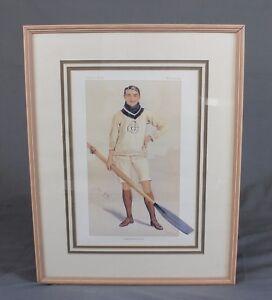 Vanity Fair Rowing Interest Hugh Benjamin Cotton March 1894