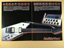 1985 Roland G-707 Guitar GR-700 Guitar Synthesizer vintage print Ad